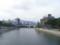 原爆ドーム。元安橋の上から。