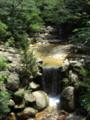 宮島の涼しげな風景。