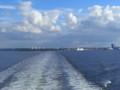 [エストニア]タリン発ヘルシンキ行きの船上にて。