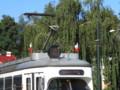 [ポーランド][乗り物]クラクフの市電(路面電車)