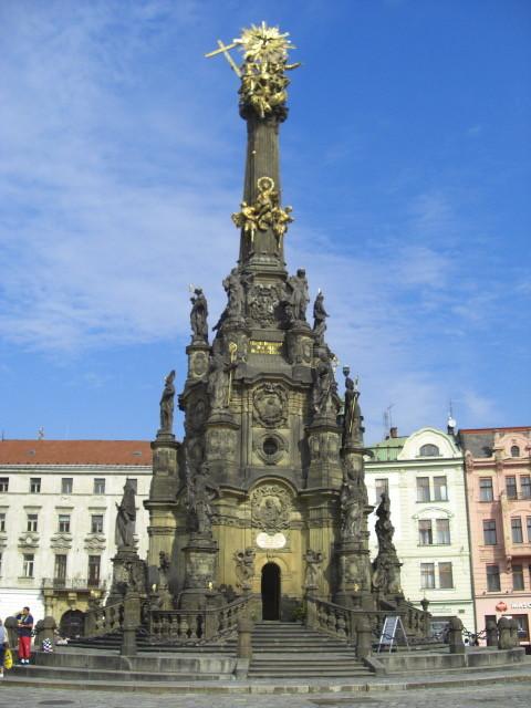 オロモウツの聖三位一体像 オロモウツの聖三位一体像 個別「[チェコ]オロモウツの聖三位一体像」の