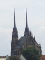 [チェコ]ブルノの聖ペテロ・パウロ教会