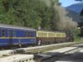[スロベニア]ブレッド・イェゼロ駅にて、蒸気機関車