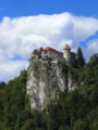 [スロベニア][風景写真]ブレッド湖(ブレッド城)