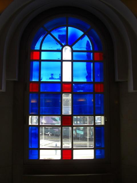 リュブリャナ駅の窓