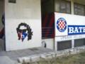 [クロアチア][風景写真]ハイデュク・スプリットのサポーターによる落書き