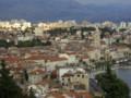 [クロアチア][風景写真]丘の上からスプリット旧市街の眺め
