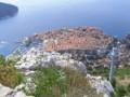 [クロアチア][風景写真]スルジ山の頂からの眺め。