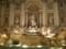 夜のトレヴィの泉(Fontana di Trevi)