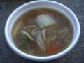[鹿島アントラーズ][食べ物]すいとん。(2009年11月28日)