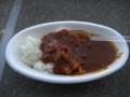 [鹿島アントラーズ][食べ物]カシマスタジアムの出店で売られているハヤシライス