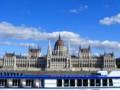 [ハンガリー][風景写真]ブダペストの国会議事堂