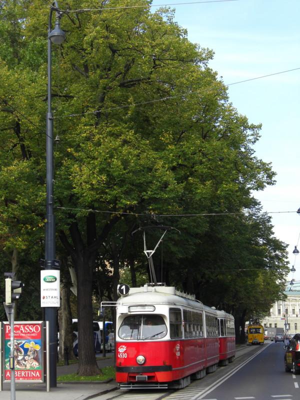 ウイーンの路面電車