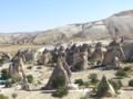 [トルコ]カッパドキアの奇岩群