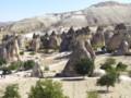 [トルコ][風景写真]カッパドキアの奇岩群
