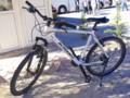 [トルコ][風景写真]カッパドキア奇岩群を走った自転車