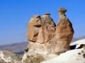 [トルコ][風景写真]カッパドキアの奇岩