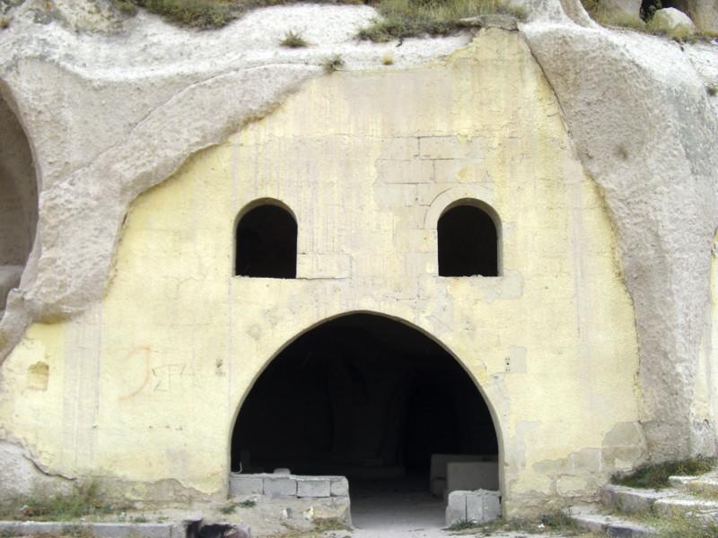カッパドキアにある、ウチヒサルの城砦