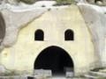 [トルコ]カッパドキアにある、ウチヒサルの城砦