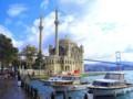 [トルコ][風景写真]オルタキョイ・ジャーミィとボスポラス大橋