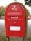 デンマークの郵便ポスト