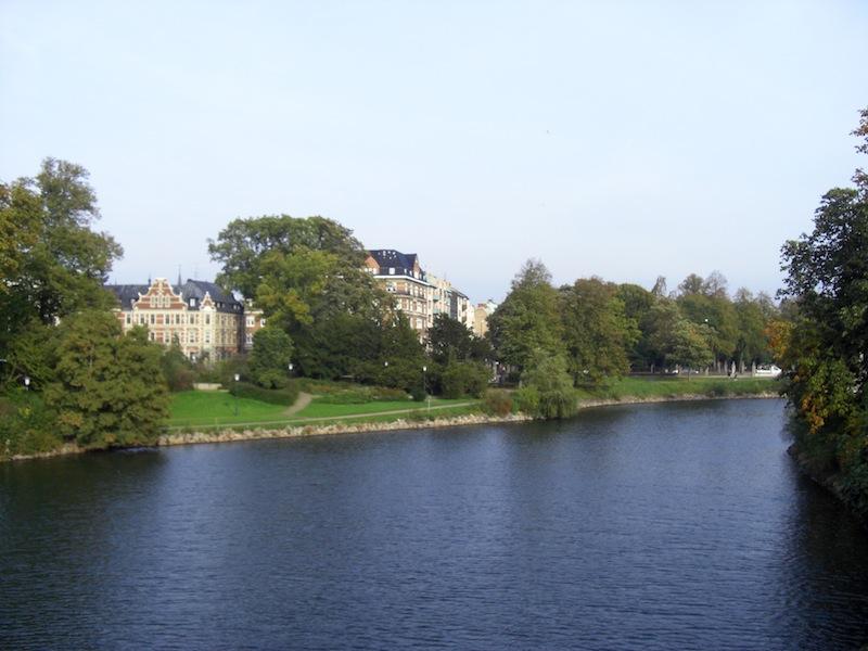 マルメ市内の公園