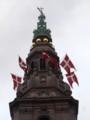 [風景写真][デンマーク]クリスチャンボー城の塔