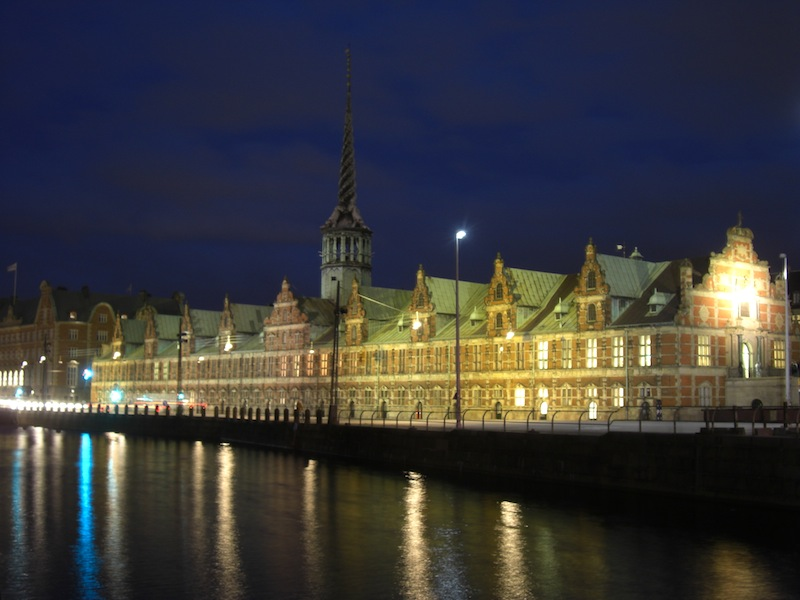 コペンハーゲン旧証券取引所