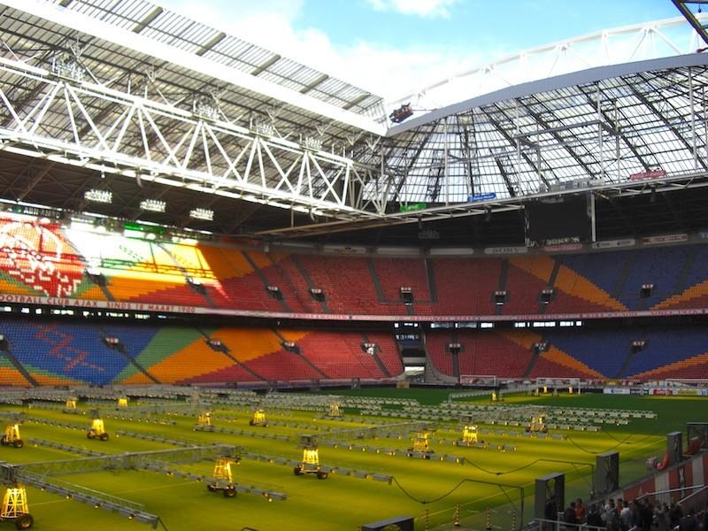 アムステルダム・アレナの照射機