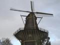 [風景写真][オランダ]アムステルダム市内に現存する風車