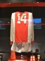 [フットボール][オランダ]70年代初頭にヨハン・クライフが着ていたアヤックスのシャツ