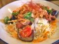 [食べ物]生姜焼とろろボウル