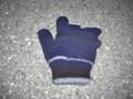 [静止物][落とし物]落ちていた手袋