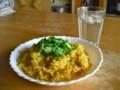 [食べ物][自炊]オクラのせドライカレー
