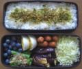 [食べ物][お弁当]2012年07月24日のお弁当