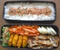 [食べ物][お弁当]2012年08月07日のお弁当