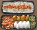 [食べ物][お弁当]2012年08月08日のお弁当