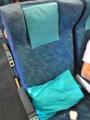[乗り物]キャセイ・パシフィック機内の座席