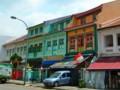 [シンガポール][風景写真]リトル・インディアで見つけたプラナカン建築