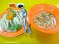 [シンガポール][食べ物]屋台のチキンライス