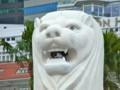 [シンガポール][風景写真]マーライオン像