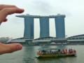 [シンガポール][風景写真]マリーナ・ベイ・サンズ