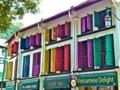 [シンガポール][風景写真]カラフルな出窓