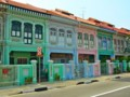 [シンガポール][風景写真]カトン地区のプラナカン建築