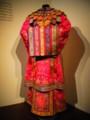 [シンガポール][静止物]プラナカン博物館に展示されていた婚礼用の衣装