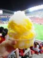 [鹿島アントラーズ][食べ物]マンゴーかき氷