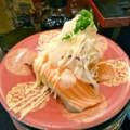 [食べ物]回転寿司(サーモンのカルパッチョ)