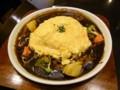 [食べ物]たっぷり野菜のデミグラスシチューオムライス