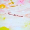 [静止物]結婚式の招待状(2012年12月08日)