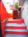 [風景写真]デザイン・フェスタ・ギャラリー原宿の階段